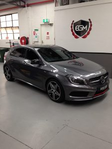 Mercedes Benz Dark Gray