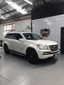 White 2012 Mercedes-Benz GL-Class