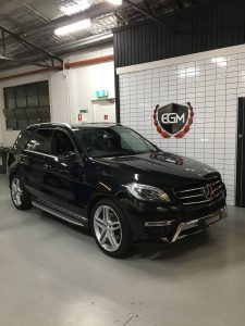 Mercedes-Benz Black SUV